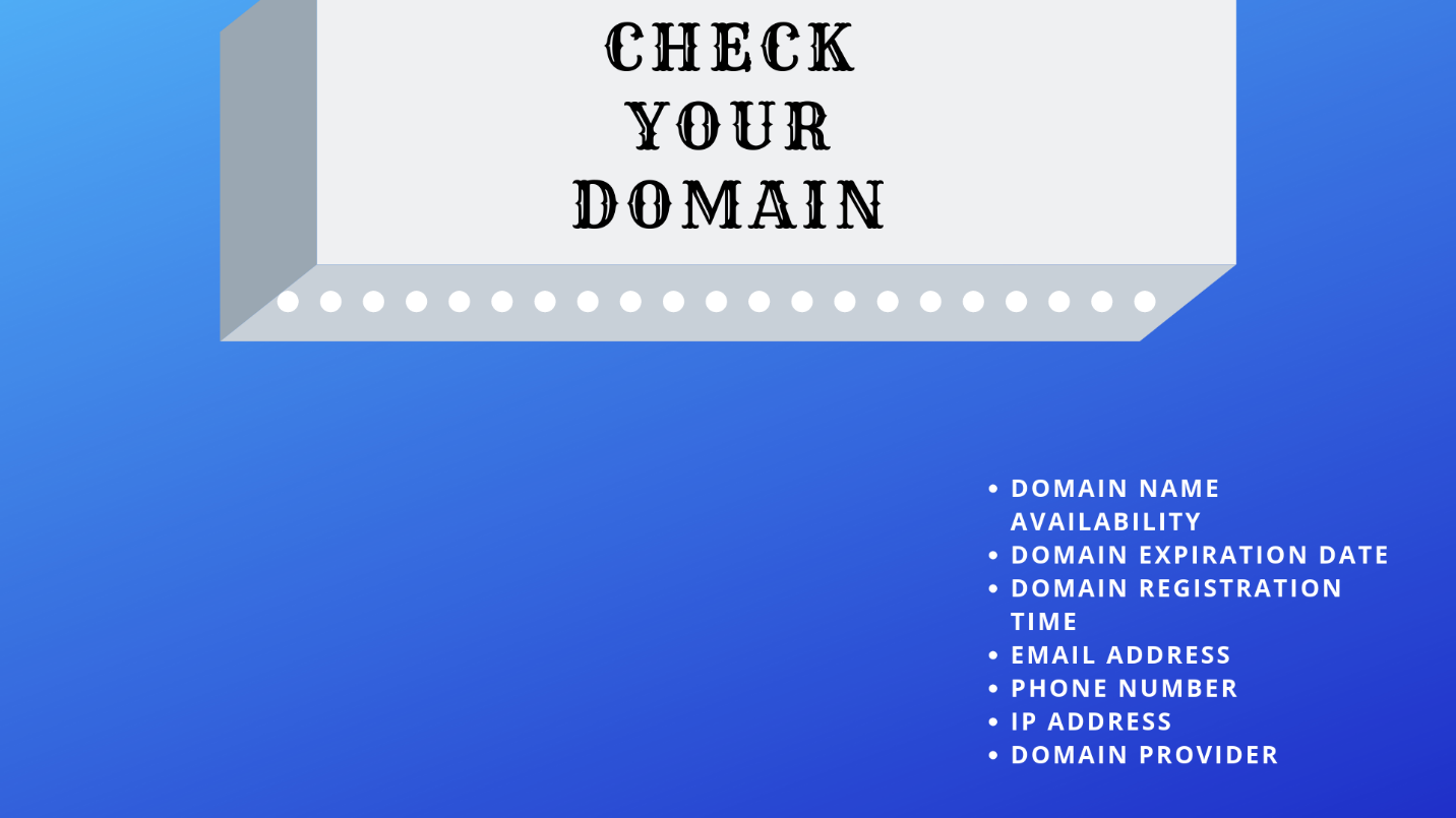 Checking Domain Name in Nigeria