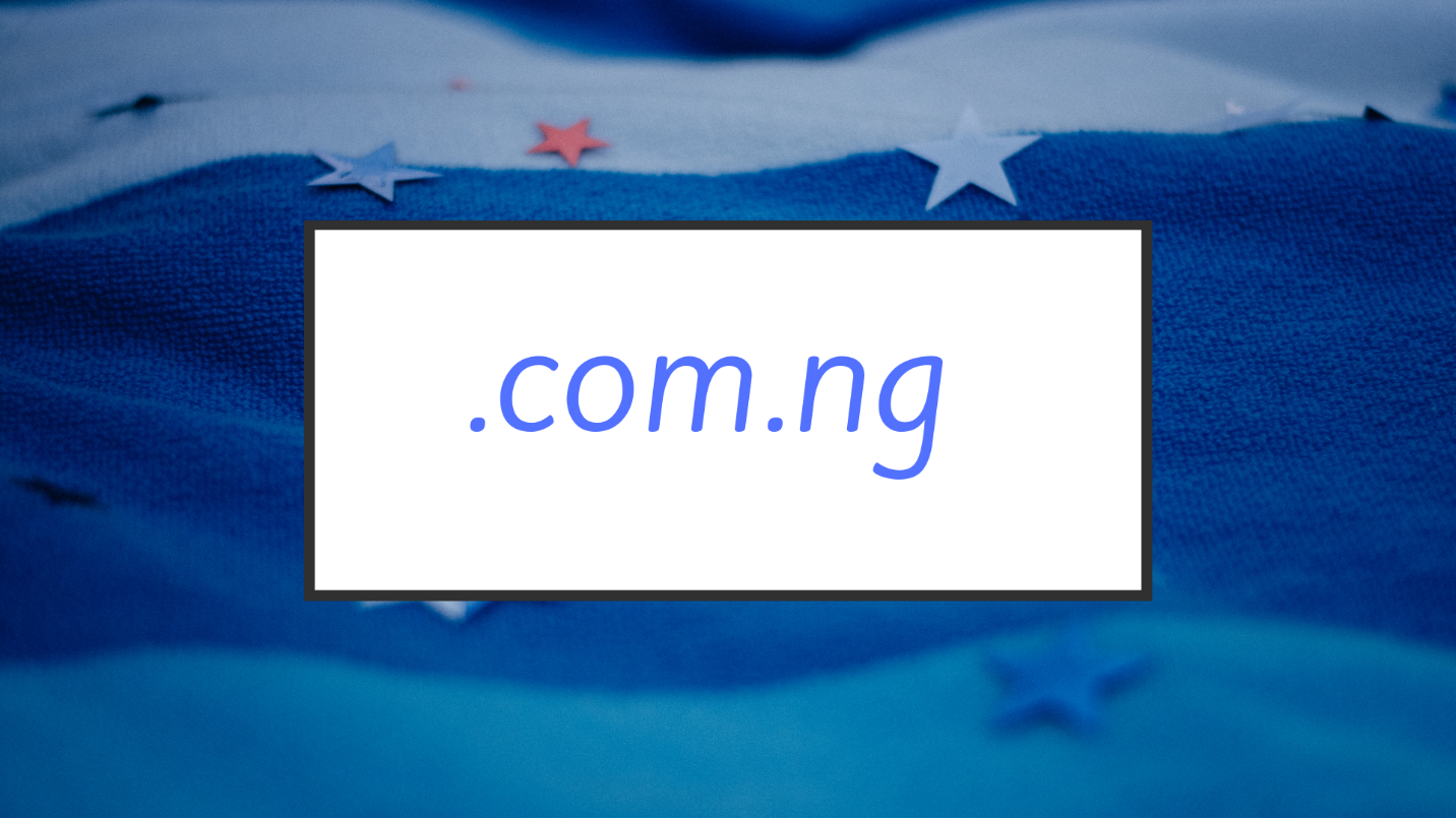 com.ng domain name