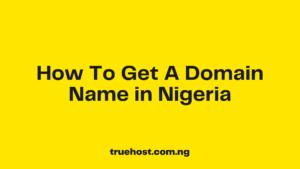 Domain Name in Nigeria