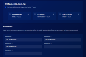 buying a domain name in Nigeria