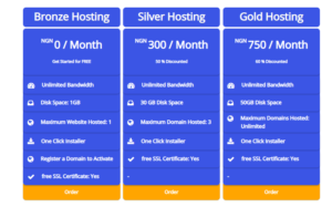 domain name registration and hosting in Nigeria