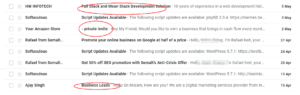 email spammers in Nigeria